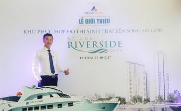 Bao dang ben Saigon riverside city
