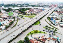 Saigon Riverside City hấp dẫn do cạnh các trục giao thông chính cảu TP. HCM