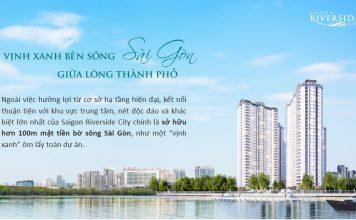 Saigon riverside bên sông