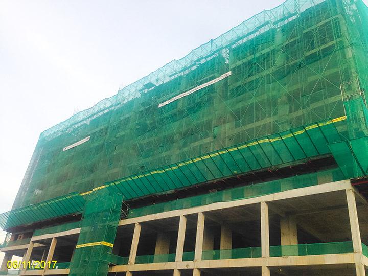 3.Tiến độ xây dựng Luxgarden tháng 11