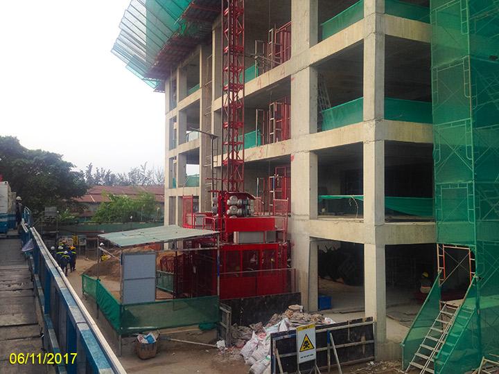 5.Tiến độ xây dựng Luxgarden tháng 11
