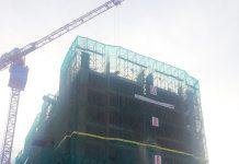 Tiến độ xây dựng Luxgarden tháng 11