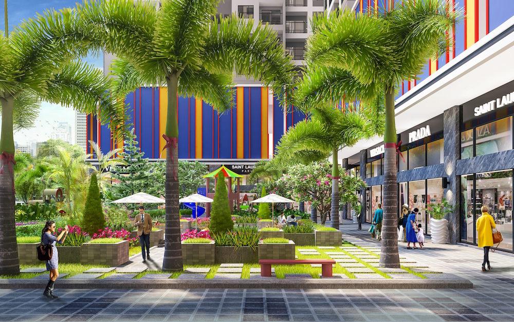 Tien ich noi khu Saigon Avenue Thu Duc