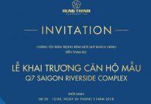 thiep moi khai truong can ho q7 saigon riverside