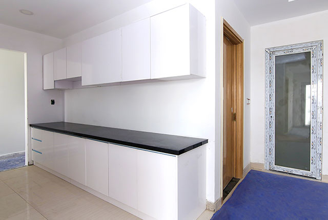 Lắp đặt tủ bếp căn hộ tầng 5 - 13 block B