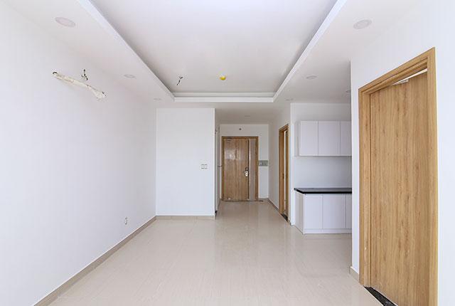 Tổng quan block ASơn nước hoàn thiện căn hộ tầng 5 - 6 block A