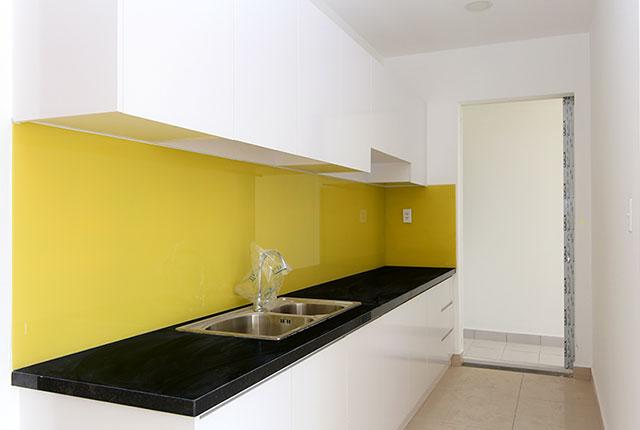 1.3Lắp đặt tủ bếp căn hộ tầng 5 - 20 block A