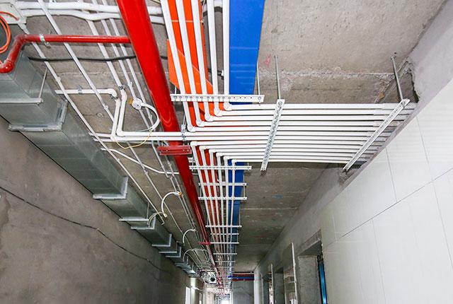 Hoàn thành lắp đặt M&E từ tầng 5 đến tầng 25 block Glory